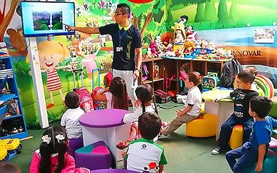 Sala de juegos para el desarrollo mental